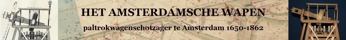 banner Penterbak en Het Amsterdamsche Wapen