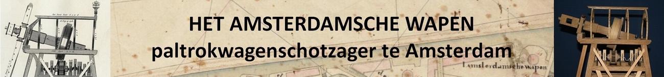 Penterbak Modelbouw bouwt Het Amsterdamsche Wapen. Een schaalmodel in 1 : 20 van een niet meer bestaand type paltrokmolen.