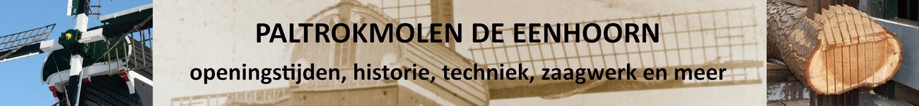 Penterbak Modelbouw en Paltrokmolen De Eenhoorn in Haarlem.