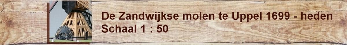 zandwijk molen model penterbak wipmolen