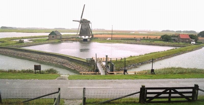 Poldermolen Het Noorden Texel