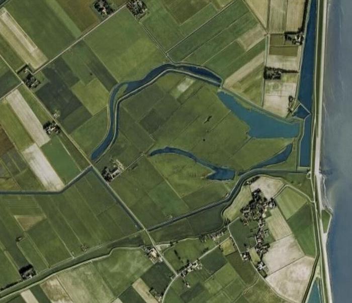 Luchtfoto van Texel Oost en Het Noorden