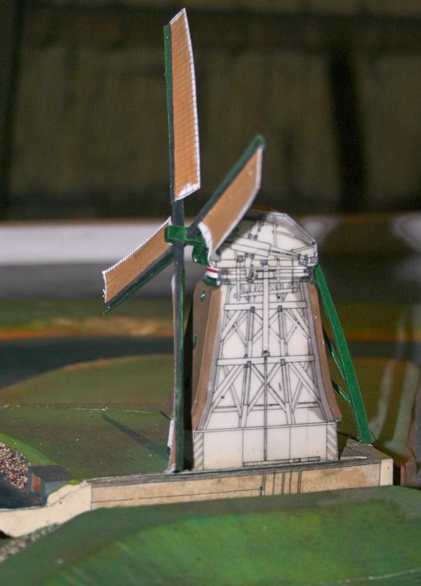 Het model van de molen Het Noorden