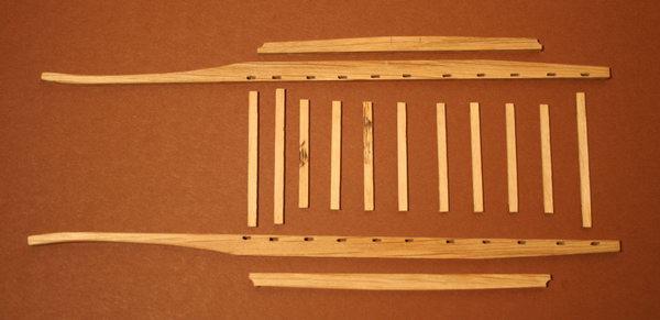Penterbak bouwt een molenaarskar