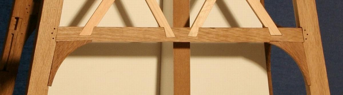 een detail van de linker zijweeg
