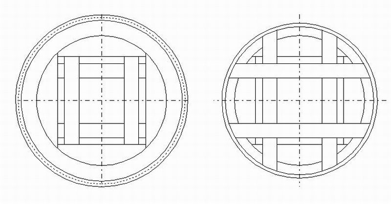 model tekening modelbouw molen penterbak