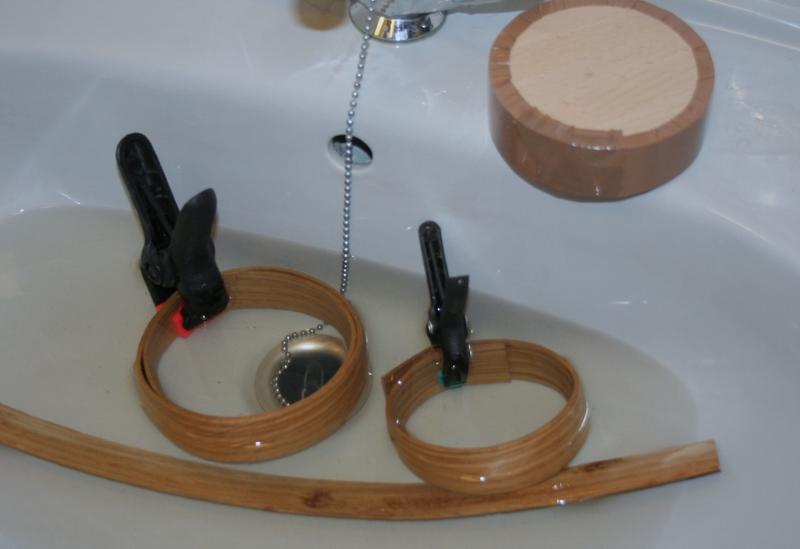 modelbouw hoepel stomen penterbak