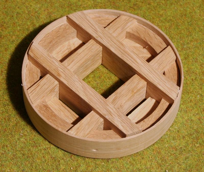 model modelbouw penterbak molenwiel