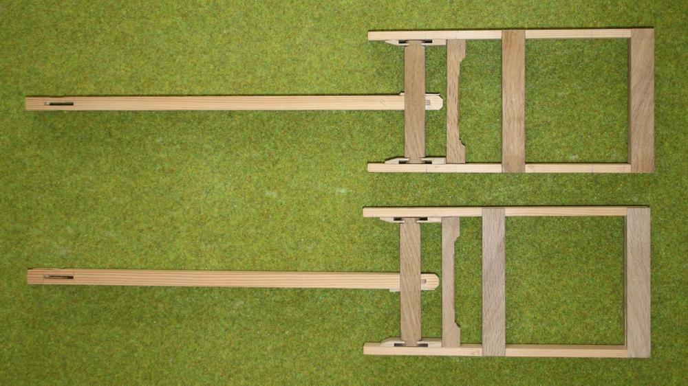 schaalmodel windmolen