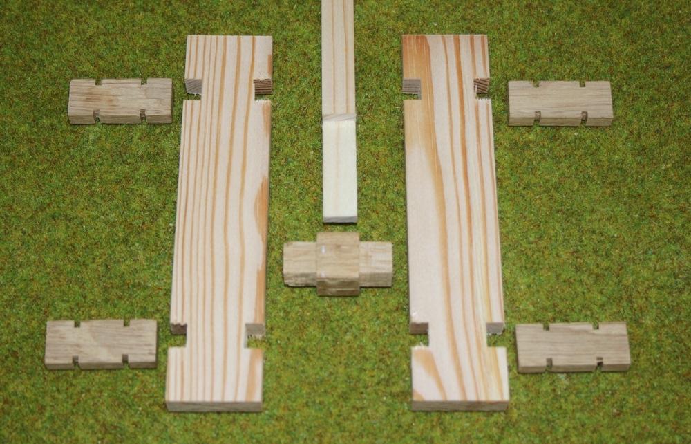 Penterbak windmolen modelbouw