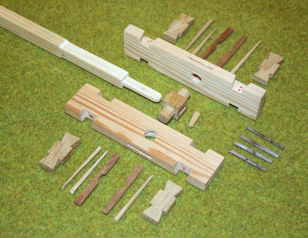 `Penterbak windmolen modelbouw