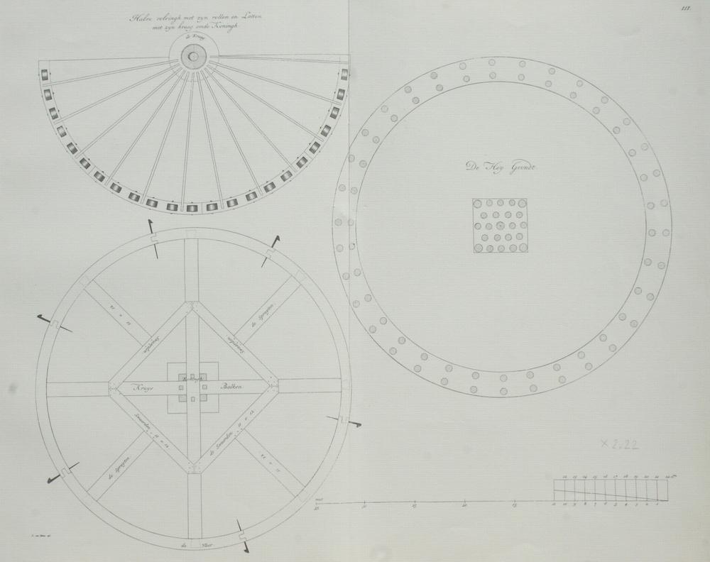 blad 3 de bouwtekening
