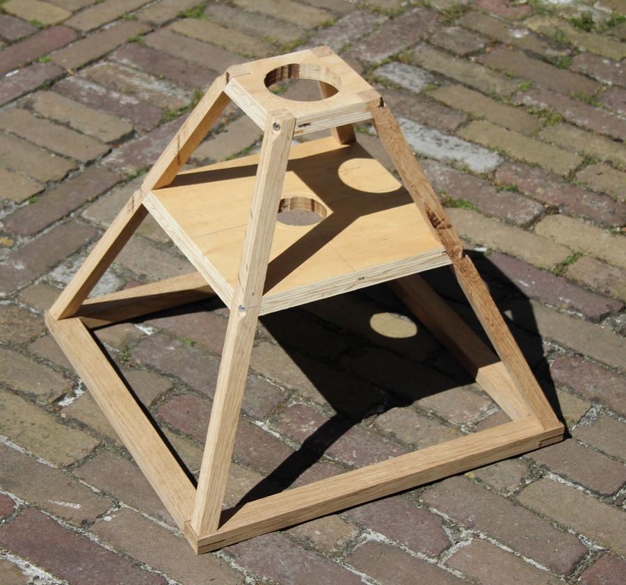 Penterbak modelbouw, wipmolen van de Schoterveenpolder