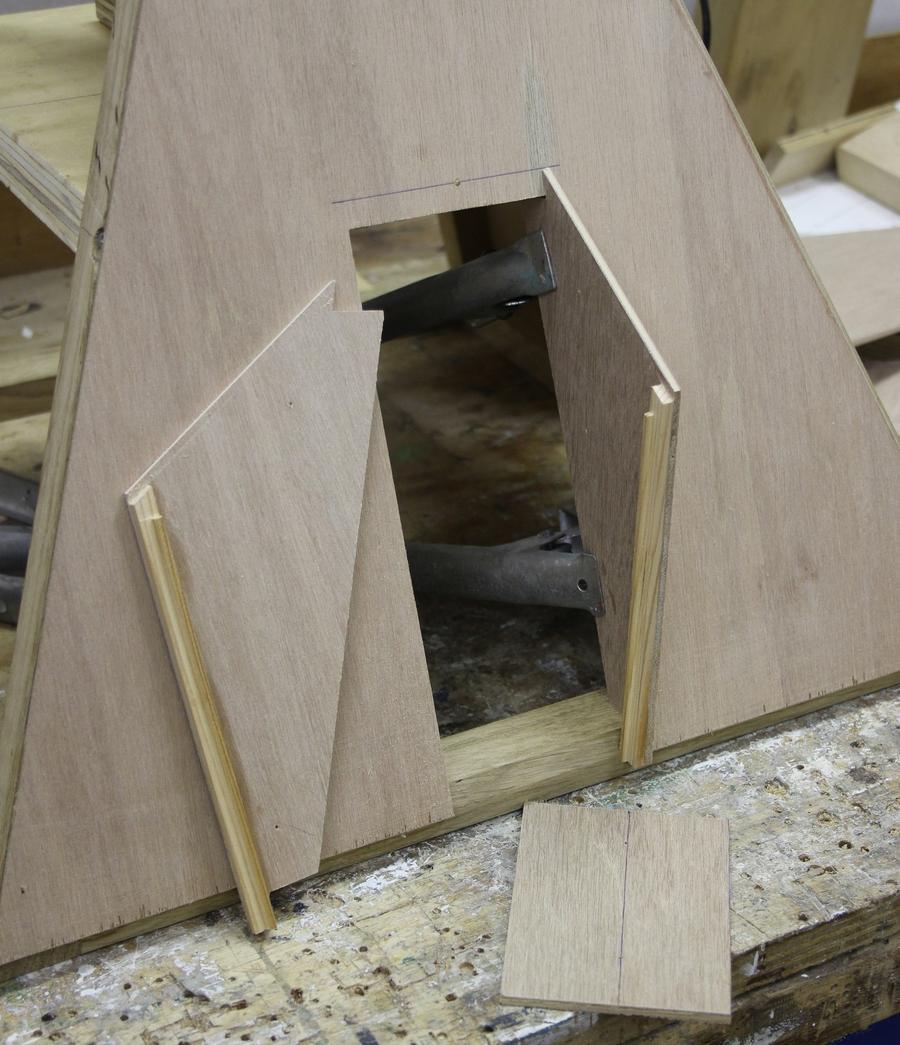 tuinmolen bouwtekening Penterbak modelbouw