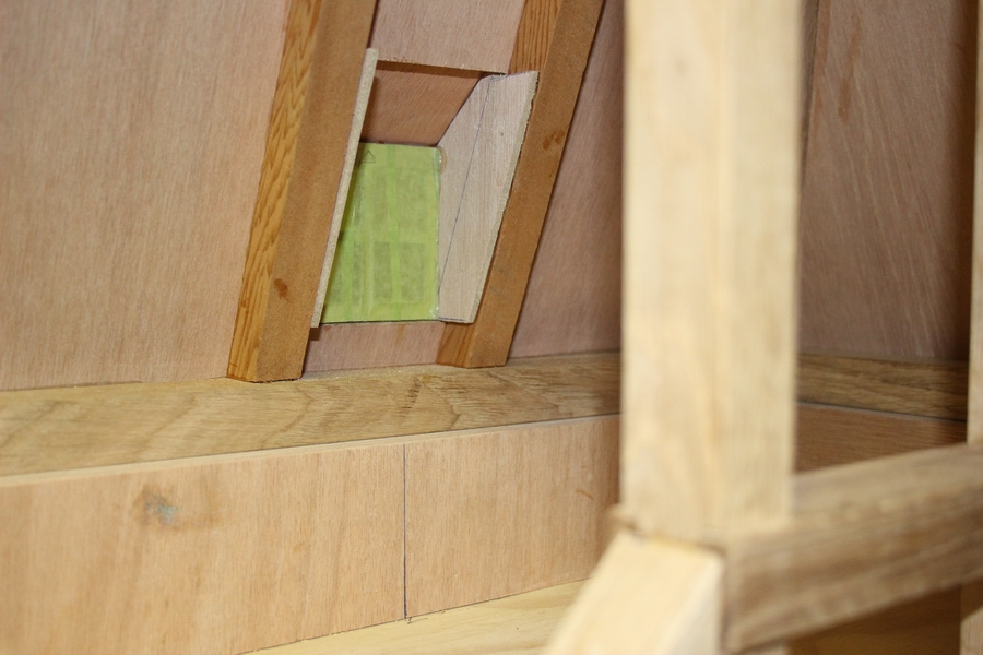 penterbak modelbouw bouwtekening wipmolen