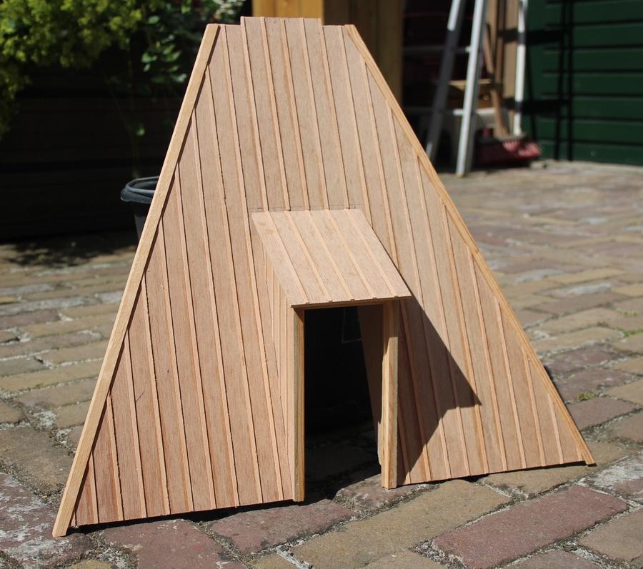 bouwtekening tuinmolen schaalmodel Penterbak modelbouw