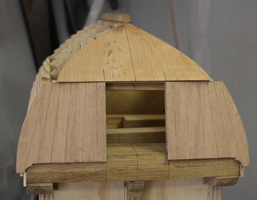 bouwtekening tuinmolen Penterbak