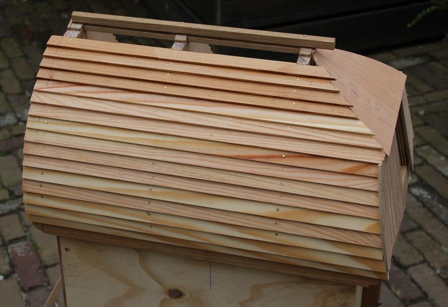 penterbak windmolenmodelbouw van de bovenste plank