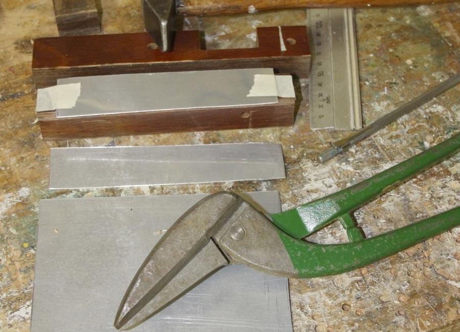 klopblok voor schoephoeklijnen tuinmolen