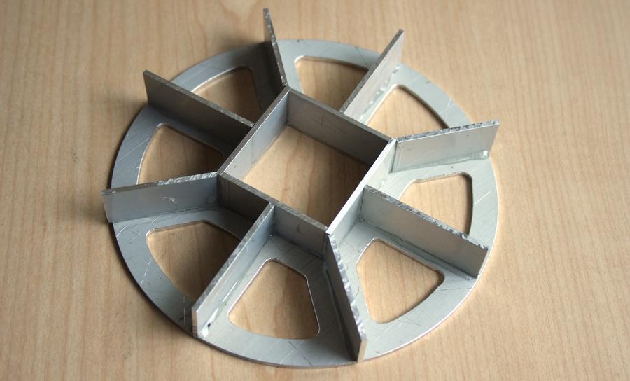 Penterbak modelbouw bouwtekening tuinmolen