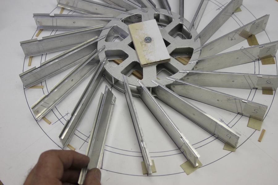 Schepradmolen Penterbak Modelbouw
